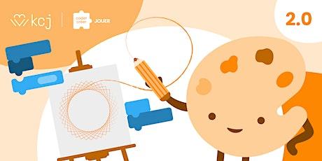 Art + Code 2.0  | Camp d'été sur le codage avec Scratch - 4 jours [virtuel] billets
