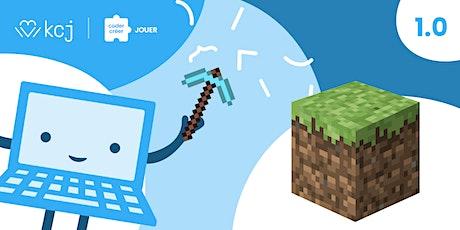 Minecraft 1.0  | camp d'été fondations pour le codage [virtuel] billets