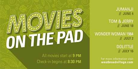 Movies on The Pad tickets