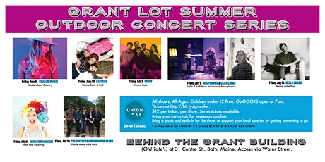 Grant Lot Summer Outdoor Concert Series tickets