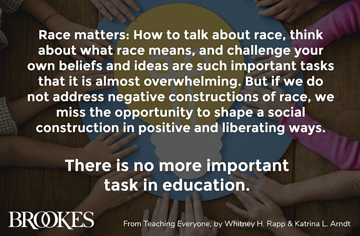 Virtual TeachMeet: Progressing Racial Equity in Ed image
