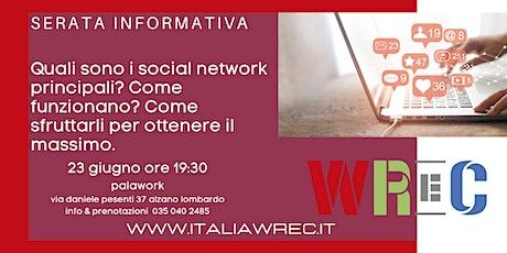 Serata informativa social media business biglietti