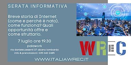 Serata informativa internet biglietti