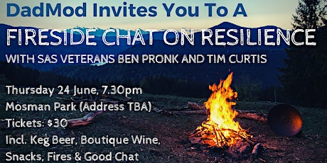 DadMod Presents a Fireside Chat on Resilience tickets