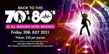 Back to the 70's and 80's! tickets