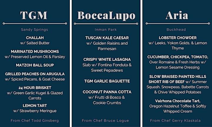 Cuisine + Conversation image