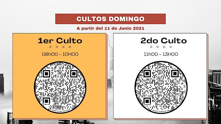 Imagen de CULTO PRESENCIAL - HORARIO N°1 // 08H00-10H00