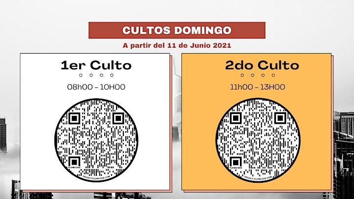 Imagen de CULTO PRESENCIAL - HORARIO N°2 // 11H00-13H00