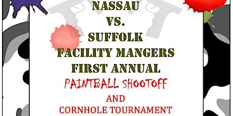 NASSAU VS. SUFFOLK FIRST ANNUAL PAINTBALL / CORNHOLE TOURNAMENT tickets