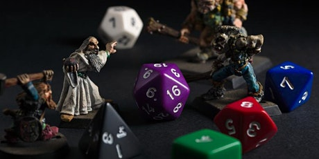 School Holiday Program: Games in Libraries - Dungeons & Dragons tickets