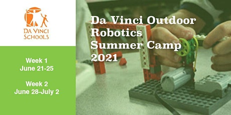 Da Vinci Outdoor Robotics Summer Camp 2021 tickets