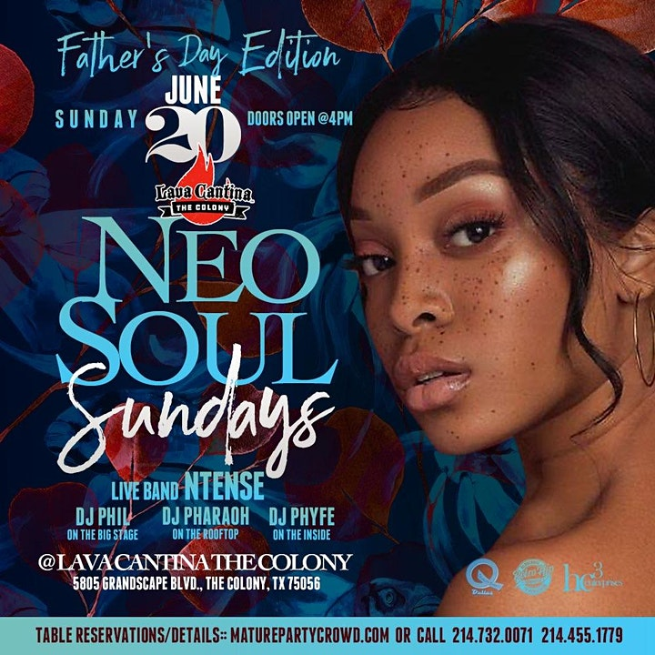 NEO SOUL SUNDAYS [Father's Day Edition] feat N'TENSE The Band image