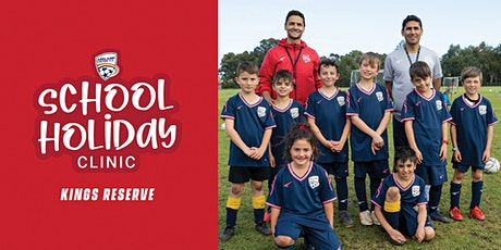 Adelaide United School Holiday Clinics - Central tickets
