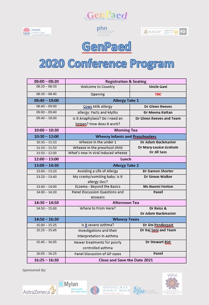 POSTPONED  - Gen Paed - Paediatric Update 2021  GP REGISTRATION image