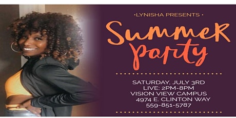 Lynisha Presents: Summer Day Party tickets
