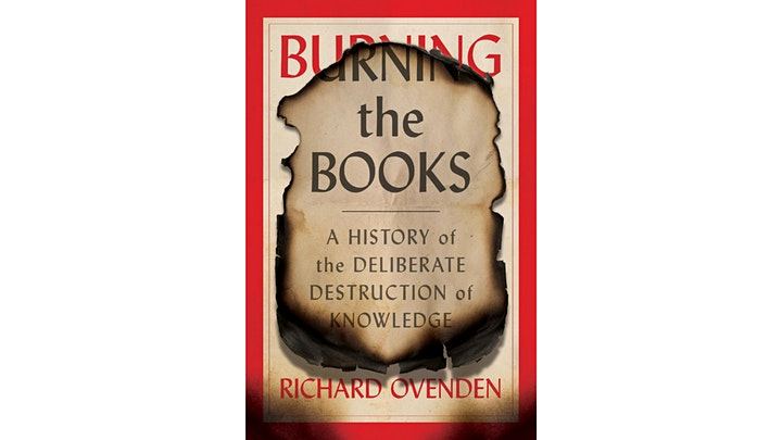 Burning the Books: A Conversation with Richard Ovenden & Abby Smith Rumsey image