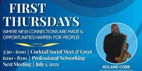 """The Professionals First Thursdays """"An Evening of Professional Networking"""" tickets"""