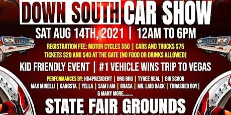 Down South Car Show tickets