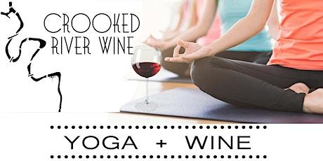 Yoga + Wine tickets