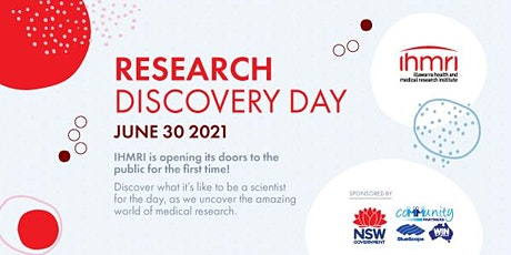 Research Discovery Day - Uncover the amazing world of medical research tickets