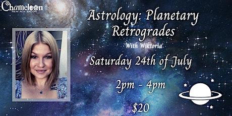 Astrology: Planetary Retrogrades With Wiktoria tickets