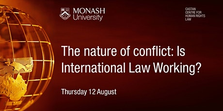 The nature of conflict: Is International Law Working? tickets
