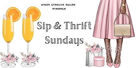 Sip and Thrift Sundays tickets