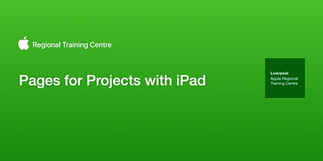 Pages for Projects with iPad tickets