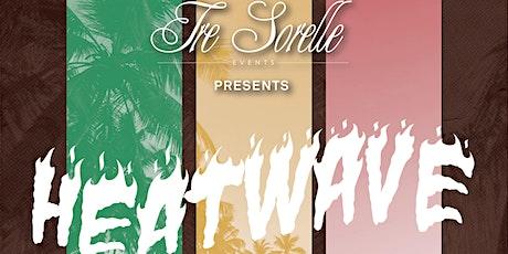 """Tre Sorelle Events Presents: """"HEATWAVE"""" Summer 2021 Swimwear Fashion Show tickets"""