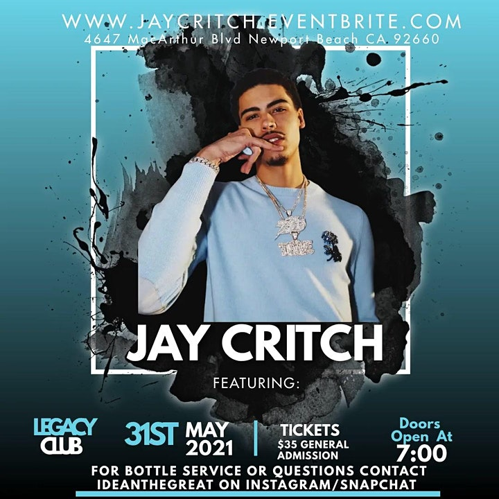 Jay Critch Concert image