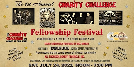 The 1st Annual Charity Challenge Fellowship Festival tickets