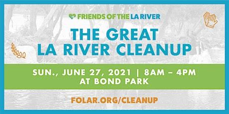 The Great LA River CleanUp: Bond Park tickets