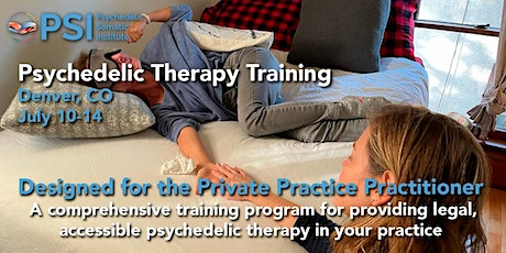 Psychedelic Therapy Training with PSI: Denver, CO tickets