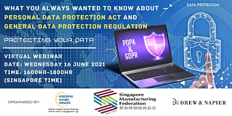 What you always wanted to know about PDPA and GDPR tickets