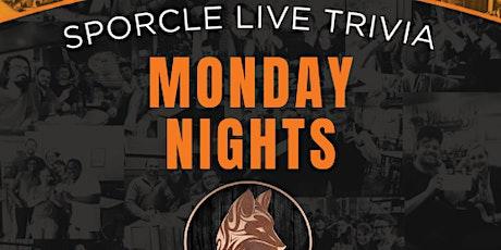 Monday Night Trivia @ Copper Fox Geneva tickets