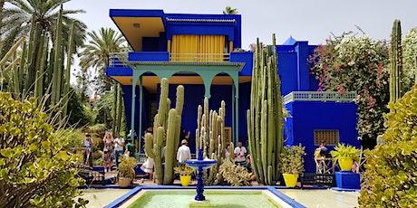 Virtual Live Tour of Jardin Majorelle Garden in Marrakech tickets