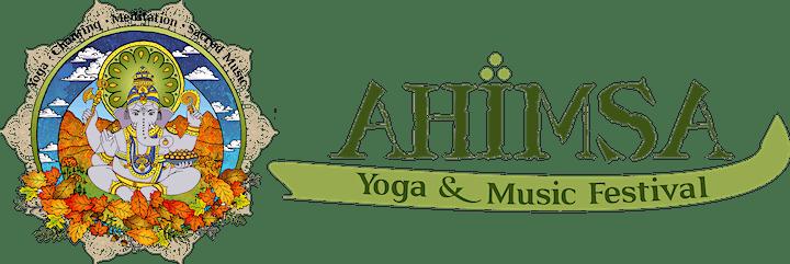 Ahimsa Yoga & Music Festival  Oct 22-24 2021 image