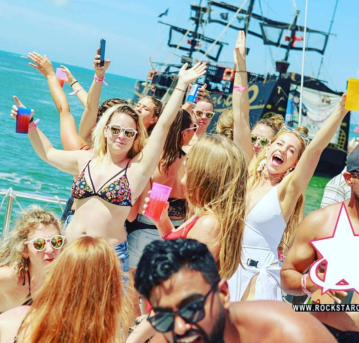 Rockstar Boat Party Cancun image