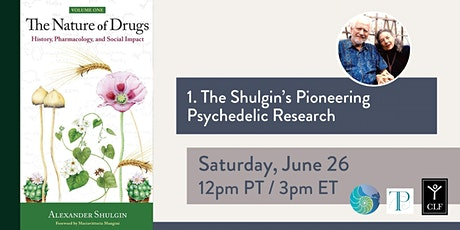 The Shulgin's Pioneering Psychedelic Research tickets