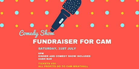 Fundraiser for Cam Wrathall tickets