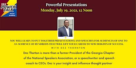 Powerful Presentations tickets
