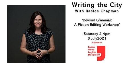 Writing the City - With Raelee Chapman tickets