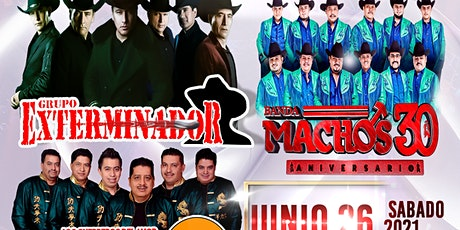 Grupo Exterminador X Banda Machos X Los Guerros Del Amor Samuray tickets