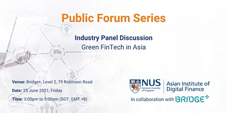 Green FinTech in Asia tickets