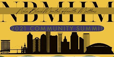 #NOLABlackMentalHealthMatters Community Summit 2021 tickets