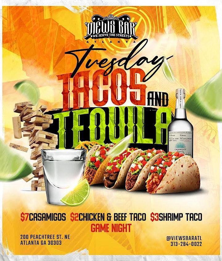 Taco Tuesday & Game Night at Views Bar & Grill image