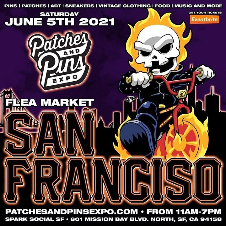 Patches & Pins Flea Market San Francisco image