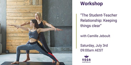 """""""The Student-Teacher Relationship: Keeping Things Clear"""" Workshop tickets"""