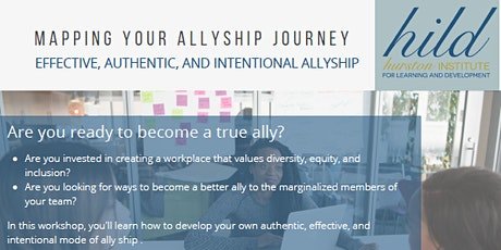 Mapping Your  Allyship Journey tickets