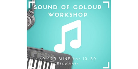 Robogals Sound of Colour Workshop (for school years 3-6) - IN PERSON tickets